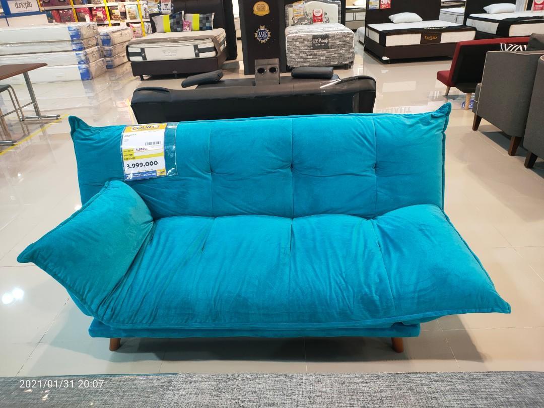 Sofa Bed Microfiber - Pillow