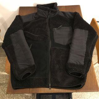 uniqlo x engineered garments 拼接外套 搖粒絨