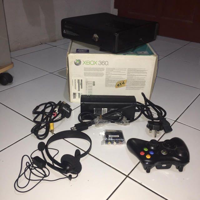 XBOX 360 250GB NEGO