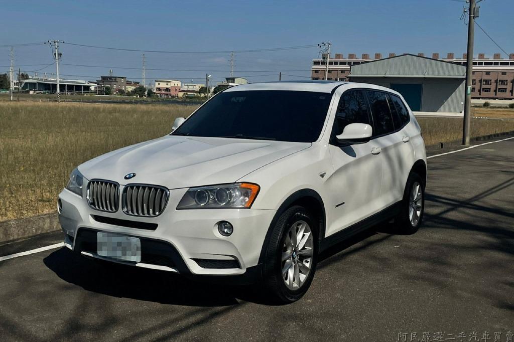 2013年BMW X3 28I 白色 美規 車況綿 無待修 實車在店