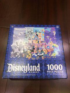 加州迪士尼樂園限量絕版拼圖 1000片全新未使用