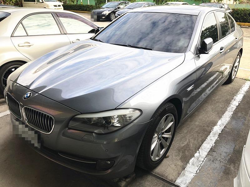 售 2012年 BMW 520I 灰 車體美 車況佳