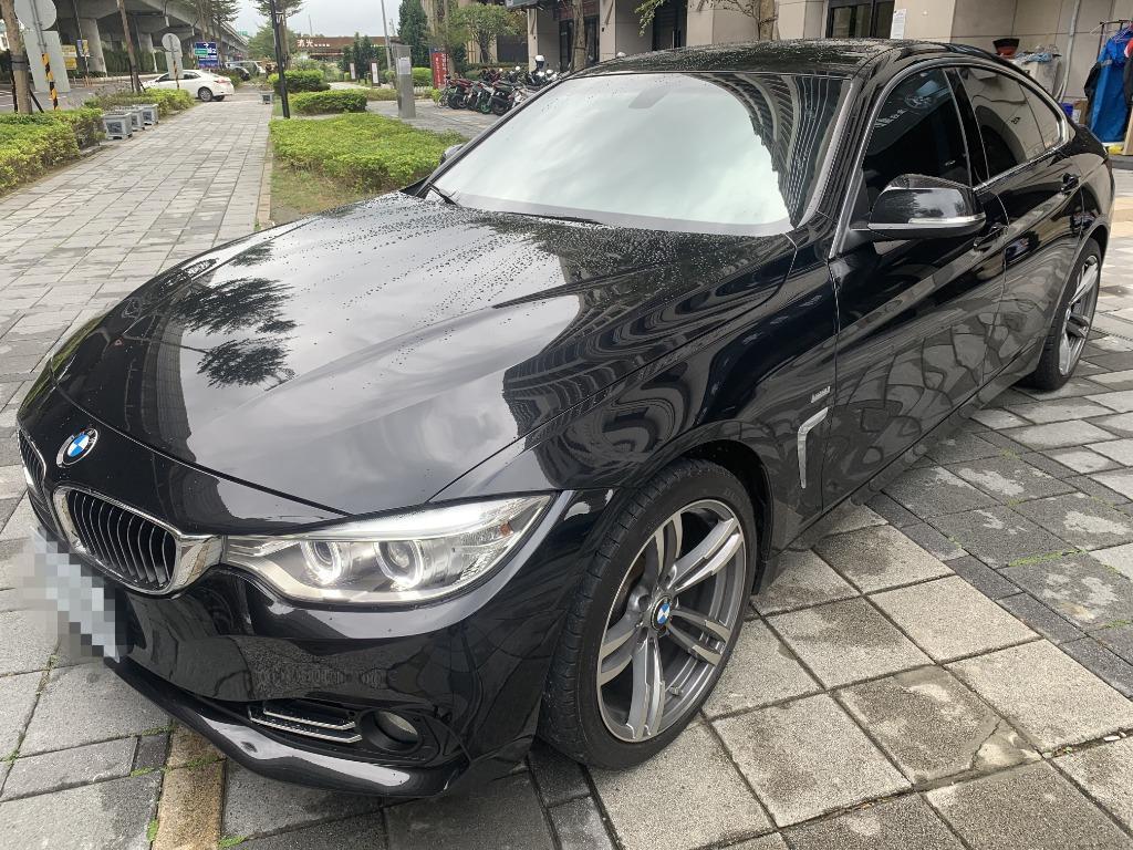 售 2015年 BMW 420I 黑 車體美 車況佳