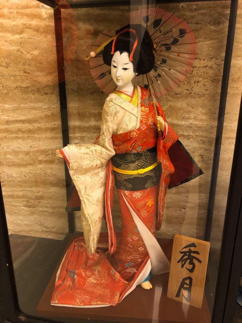 日本娃娃 古董珍藏  秀月