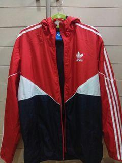Adidas Original UK Red windbreaker