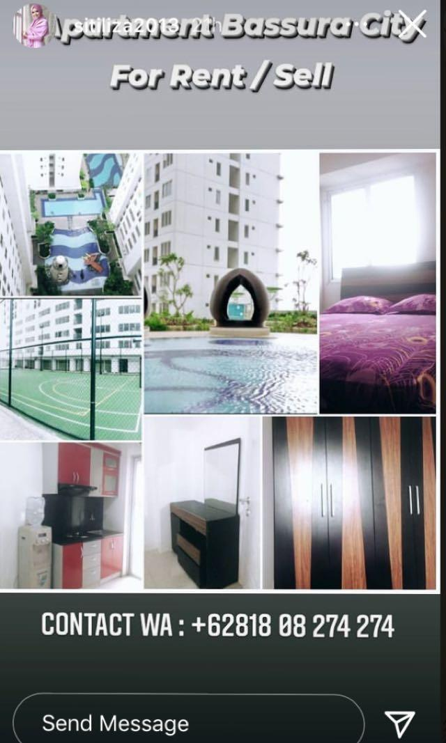 Apartment Bassura For Rent/Sale
