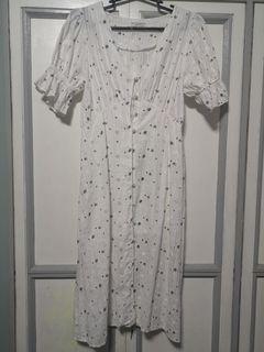 Bangkok Puff Sleeve Dress Med