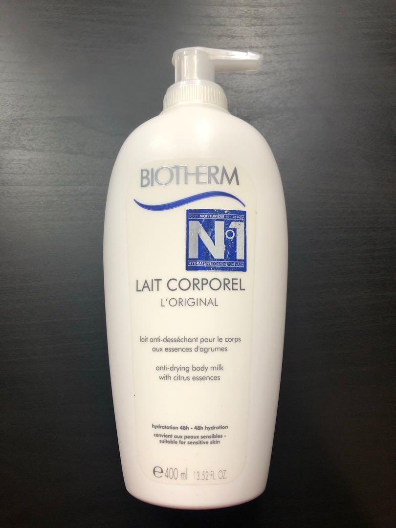 Biotherm body milk
