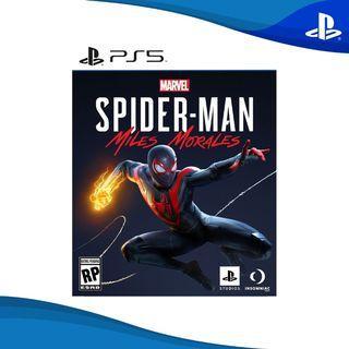 (BNIB) SpiderMan Miles Morales PS5