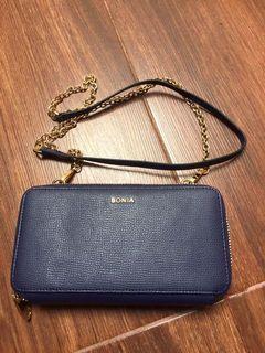bonia dompet slingbag authentic