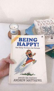 Buku motivasi pengembangan diri - being happy