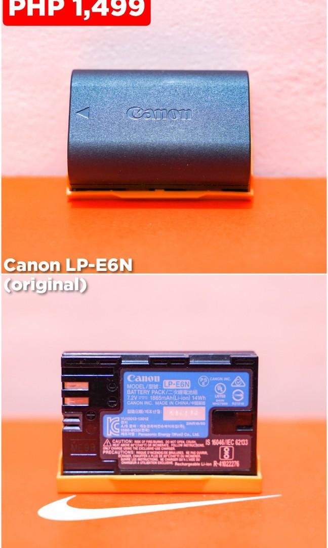 Canon LP-E6N battery (original)