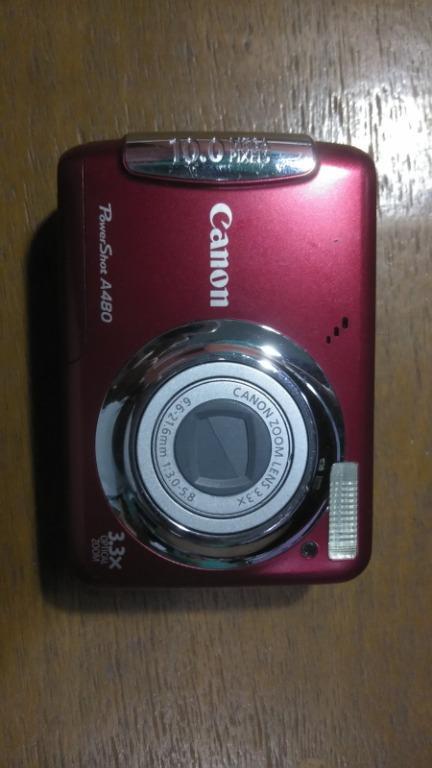 Canon PowerShot A480 - Defective