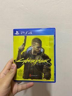 PS4 Cyberpunk 2077