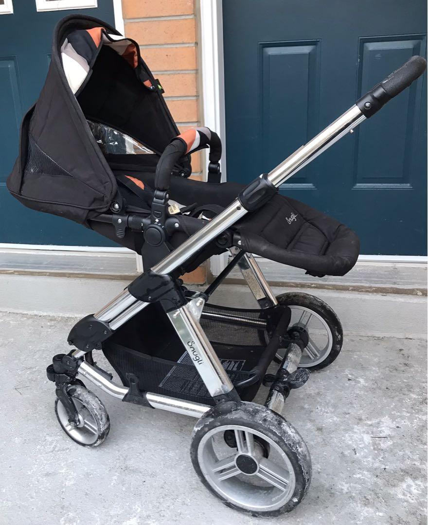 EUC Snugli stroller style set