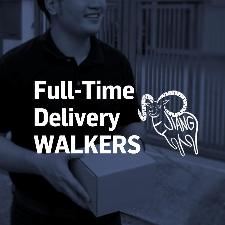 FULL-TIME Parcel Delivery Walker