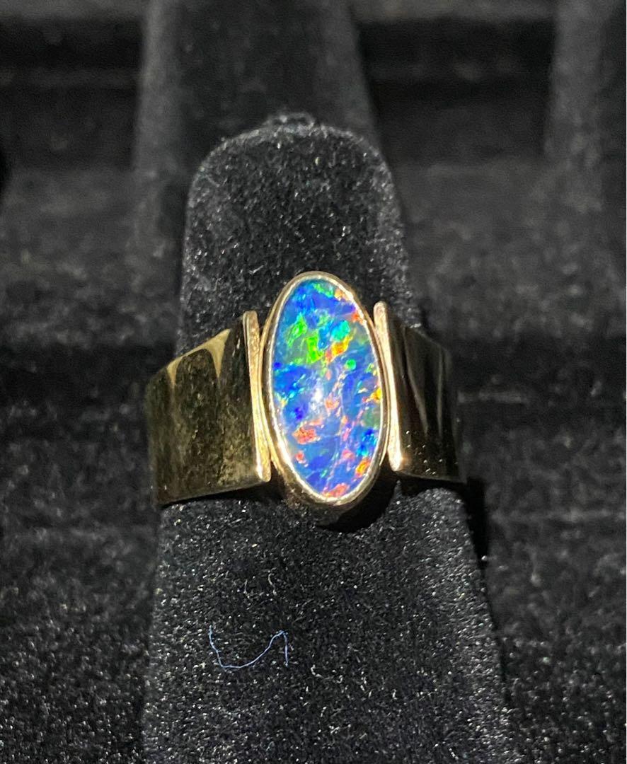 Genuine Australian Black Opal