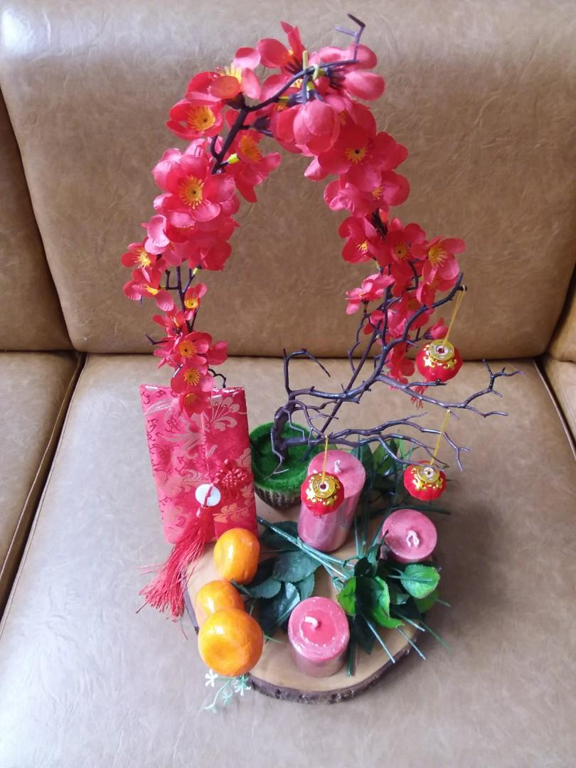 chinese new year table decoration