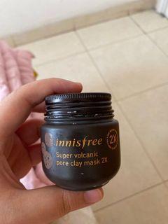 Innisfree Jeju Volcanic Pore Clay Mask 2X