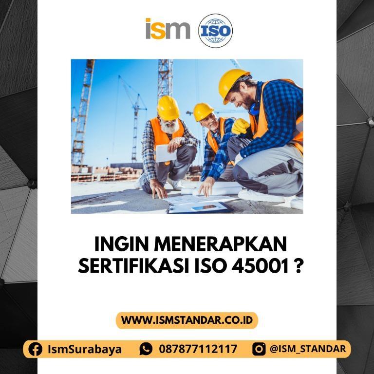 ISO 45001 SURABAYA
