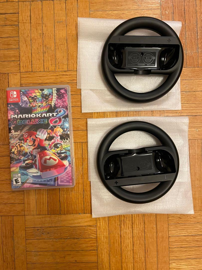 Joy Con Racing Steering Wheel for Nintendo Switch
