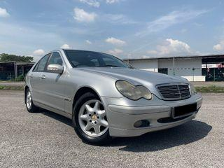 MERCEDES-BENZ C200 2.0 (A) TIPTOP/ONE OWNER/KING