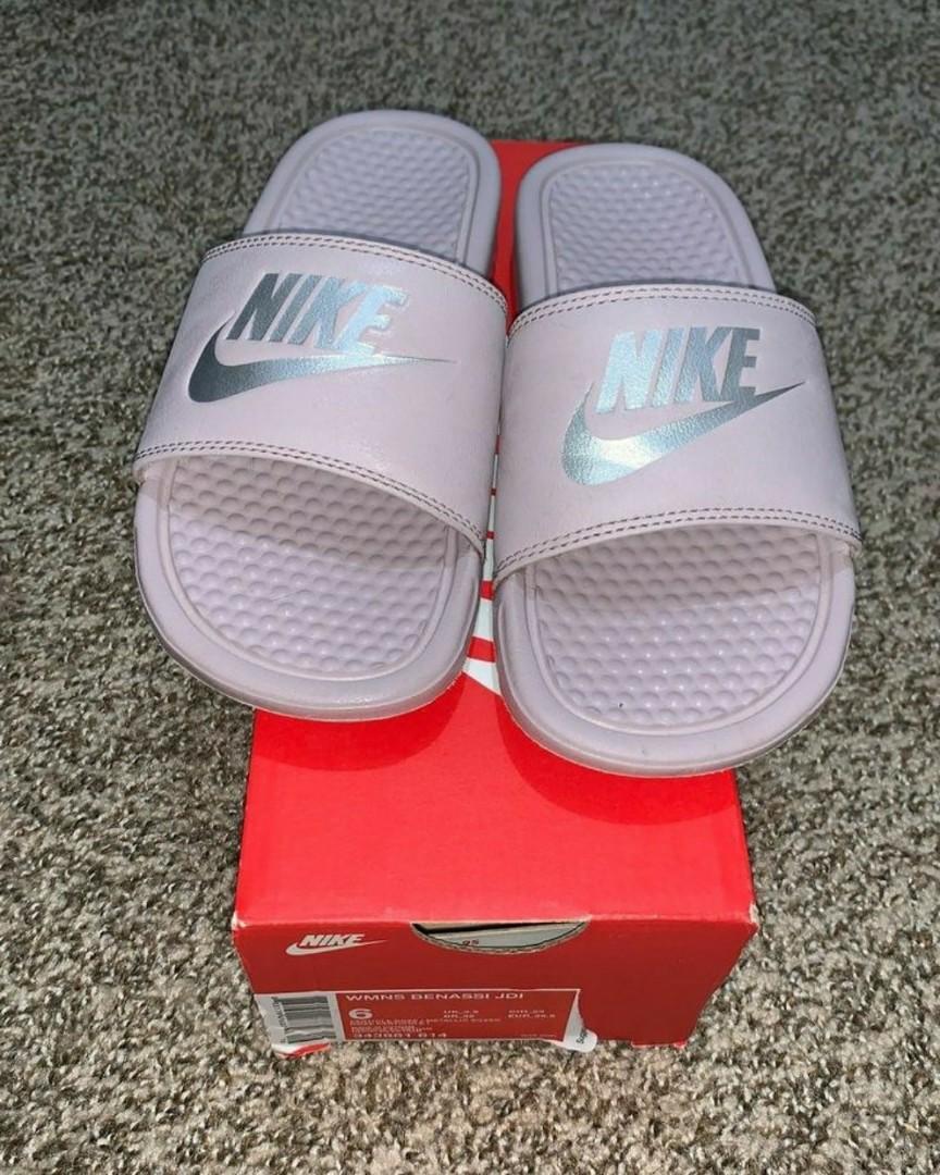 New Nike slides  never used