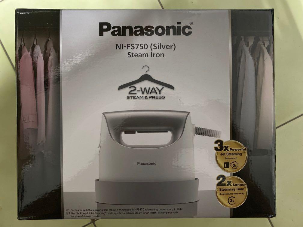 Panasonic 2Way 蒸汽熨斗 NI-FS750(Silver)