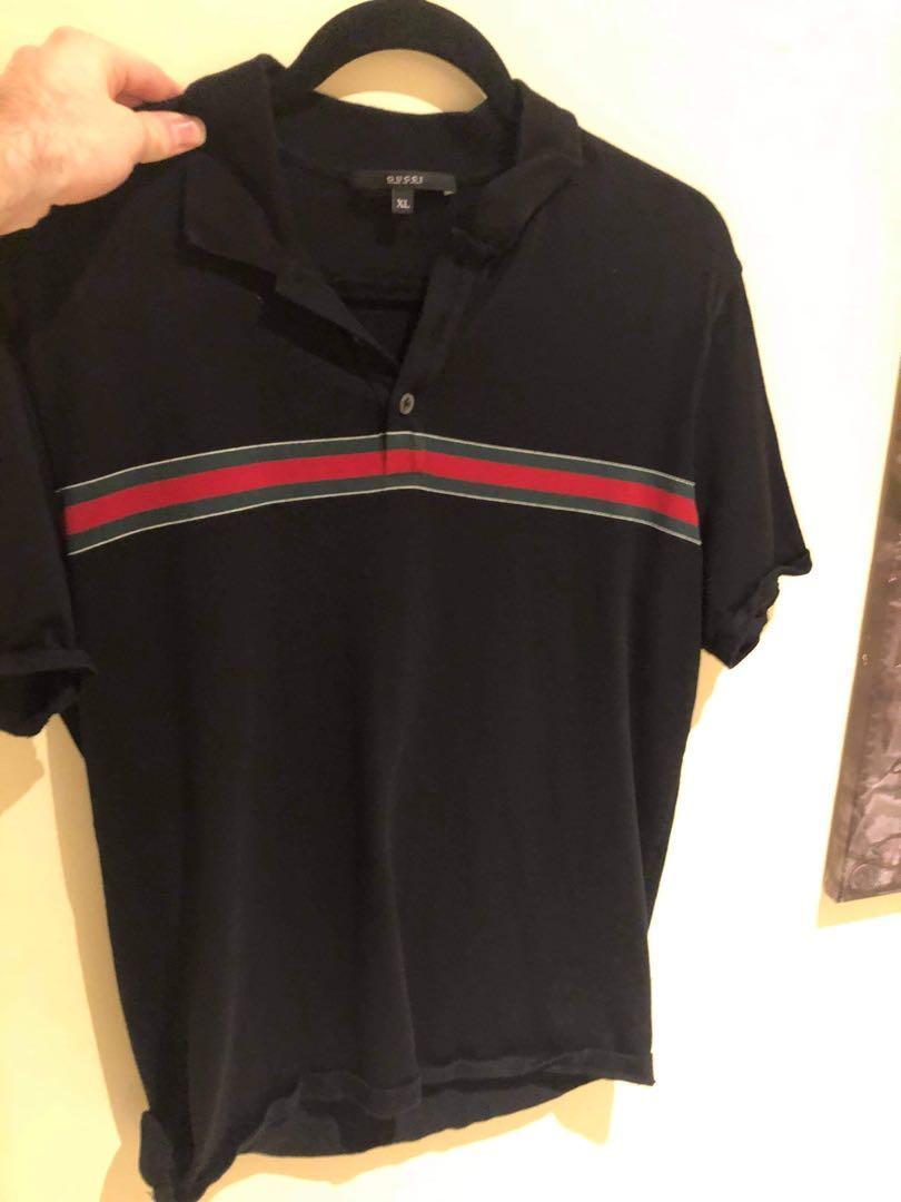 Rare Authentic Gucci Polo Shirt Mens