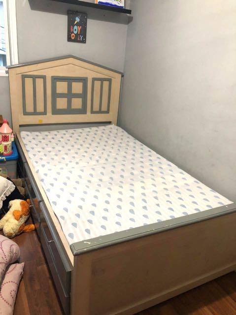 Tempat tidur anak ukuran kasur 120x200