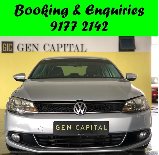 Volkswagen Jetta. Silver. PHV/PERSONAL/GRAB/Ryde/GOJEK/PARCEL DELIVERY .$500 deposit only. Whatsapp 9177 2142 to reserve.Cheap Car Rental. Cheap Car. Budget car.