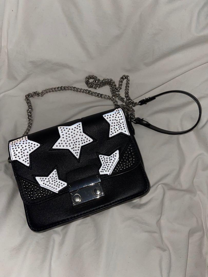 Zara reflective star shape bag