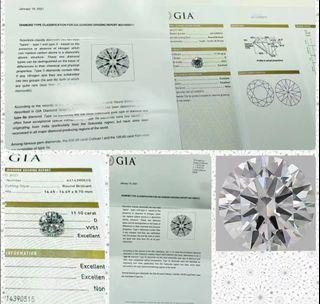 11ct big stone diamond