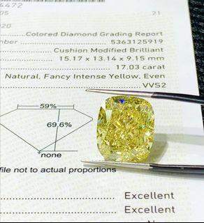 17ct big diamond