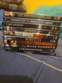 35 movies + blu-ray DVD player