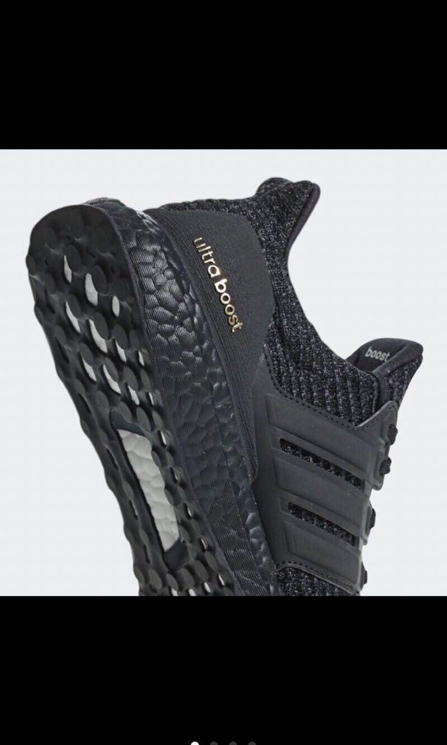 Adidas ULTRA BOOST 4.0 Triple 全黑 F36123 黑 慢跑鞋 女鞋