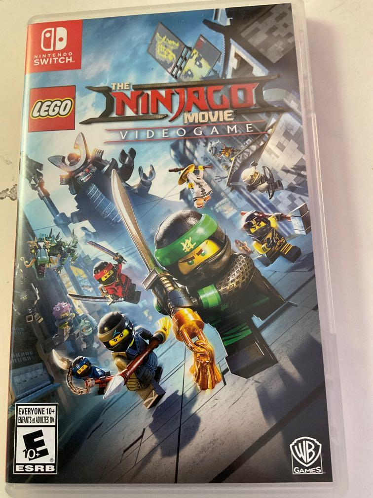 all brand new ninjago movie video game chip for nintendo players
