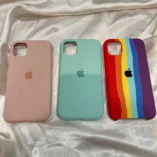 APPLE SILICON CASE CASING IPHONE 11