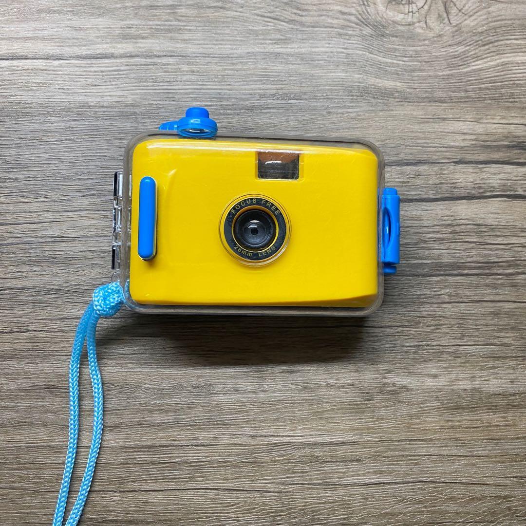 Aquapix Lomo Film Camera (Yellow)