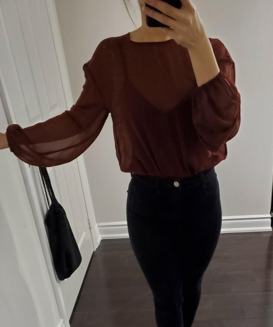Aritzia Wilfred Talmont Bodysuit - XXS