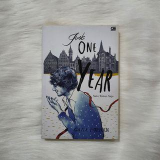 (Bahasa) Just One Year by Gayle Forman