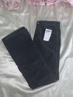 Brandy Melville Black Corduroy Pants
