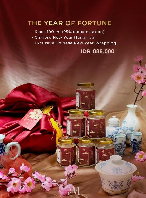 Chinese new year exclusive gift birdnest(