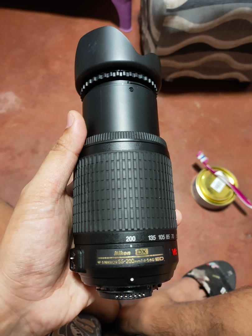 COD LBC Nikon 55-200mm VR Zoom Lens With Autofocus Mint Condition