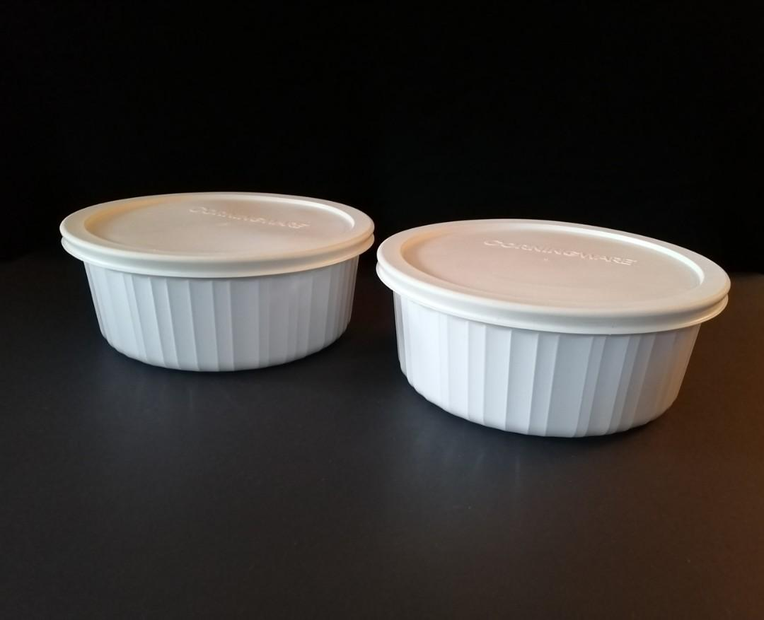 Corning Ware Dish With Lid (Set of 2)