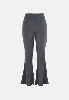 Grey Flare Leg Pants