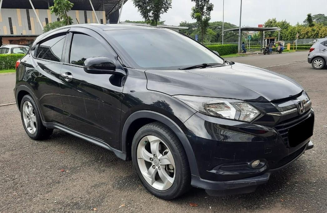 Honda HRV E CVT 1.5 matic 2016 Hitam KM 65ribu