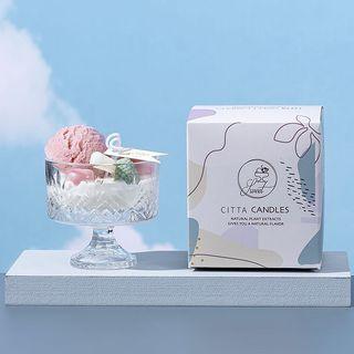 Ice cream candle