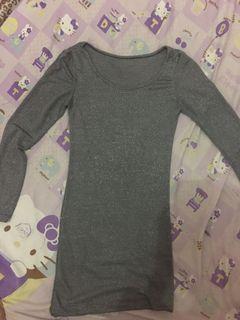 baju panjang bahan stretch