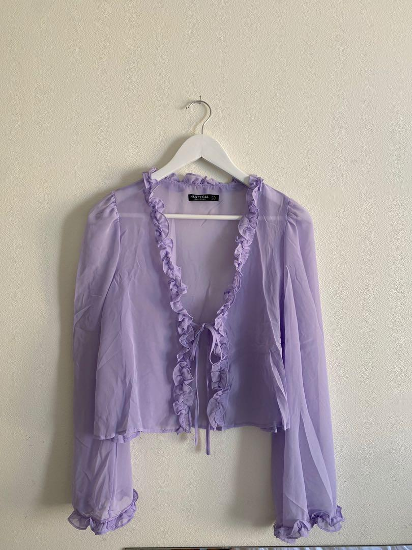 Lilac top